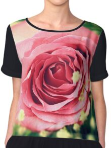 Pink rose Chiffon Top