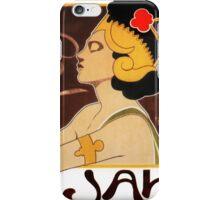 Exotic Woman Drinking Rajah Espresso iPhone Case/Skin
