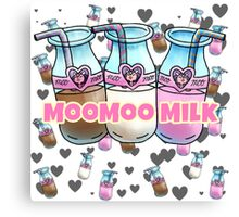 Moo Milk   Canvas Print