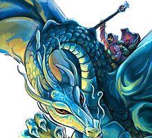 Dragon Rider by ImagineThatNYC