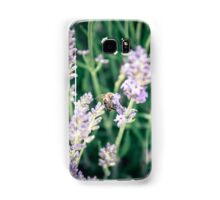 Bee and lavender Samsung Galaxy Case/Skin