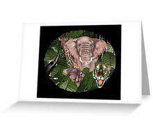 Wild Jungle Greeting Card
