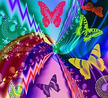 Butterfly Dreamland by walstraasart