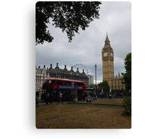 London Sightseeing Canvas Print