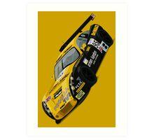 TVR Tuscan Le Mans Art Print (Yellow) Art Print
