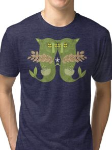 Mutant Catfish Twins Collecting Starfish Tri-blend T-Shirt