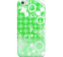 Pure Green Diamond Pattern iPhone Case/Skin