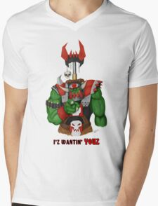Unkull Ork (text) Mens V-Neck T-Shirt