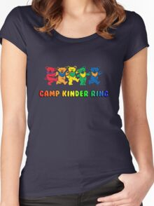 Camp Kinder Ring Bears Women's Fitted Scoop T-Shirt