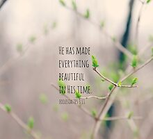 Beautiful Ecclesiastes 3 by Kimberose