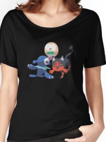 Pokemon Sun and Moon Starters (Pose 1) Women's Relaxed Fit T-Shirt