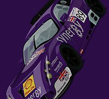TVR Tuscan T400R Le Mans 2004 Art Print  by RacingColour
