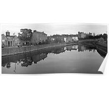 Kilkenny Castle view from Lady Desert Bridge Poster