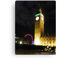 London at Night Canvas Print