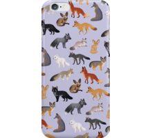 Fox Breeds iPhone Case/Skin
