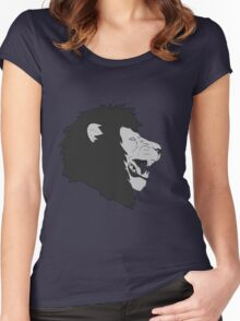 Noble Lion Women's Fitted Scoop T-Shirt