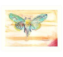 Jupiter Cicada Art Print