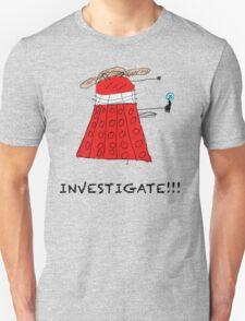 Dalek Investigate T-Shirt