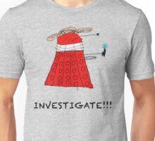 Dalek Investigate Unisex T-Shirt