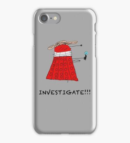 Dalek Investigate iPhone Case/Skin