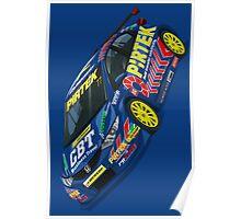 Andrew Jordan BTCC Honda Civic Poster