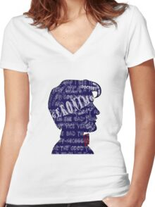 Geronimo! Women's Fitted V-Neck T-Shirt