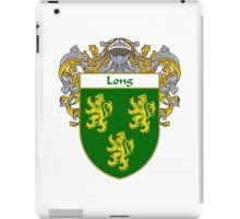 Long Coat of Arms/Family Crest iPad Case/Skin