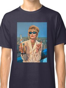Joanna Lumley as Patsy Stone painting Classic T-Shirt