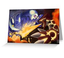 Kyogre and Groudon - New Battle Greeting Card
