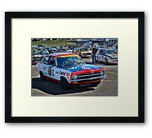 Colin Bond Torana GTR Framed Print