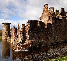 Caerlaverock Castle 2 by Alison Scotland