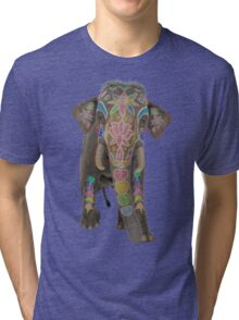 Indian Elephant  Tri-blend T-Shirt