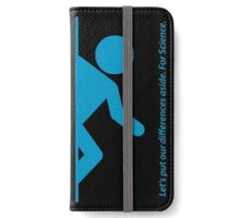Let's Put Our Differences Aside. For Science. iPhone Wallet/Case/Skin