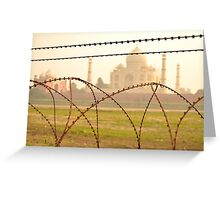 Barbed Wire Love Greeting Card