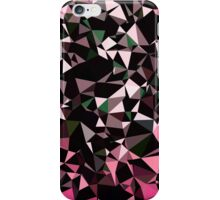Pink Black Vector Triangle Design  iPhone Case/Skin