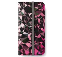 Pink Black Vector Triangle Design  iPhone Wallet/Case/Skin