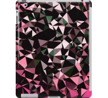 Pink Black Vector Triangle Design  iPad Case/Skin