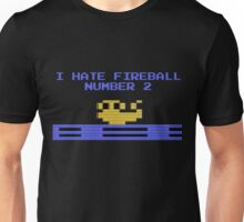 I Hate Fireball Number 2 - Donkey Kong - Atari 2600 Unisex T-Shirt