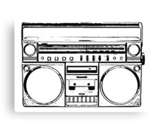 Portable Stereo Canvas Print