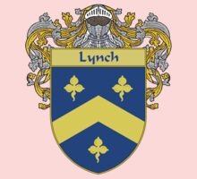 Lynch Coat of Arms/Family Crest One Piece - Long Sleeve