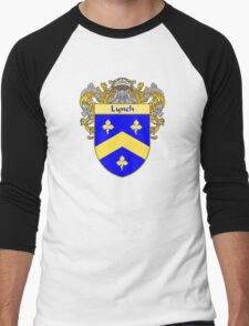 Lynch Coat of Arms/Family Crest Men's Baseball ¾ T-Shirt