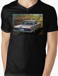 1960 Ford Thunderbird Mens V-Neck T-Shirt