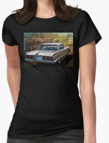 1960 Ford Thunderbird Womens Fitted T-Shirt