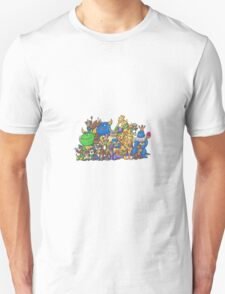 Spyro PS1 Trilogy Characters T-Shirt