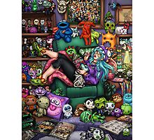 Monster Mash-up Photographic Print