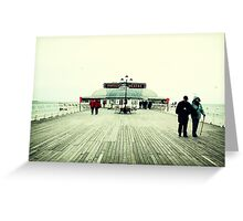 Pavilion Theatre, Cromer Pier Greeting Card