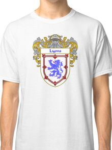 Lyons Coat of Arms/Family Crest Classic T-Shirt