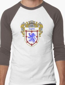 Lyons Coat of Arms/Family Crest Men's Baseball ¾ T-Shirt