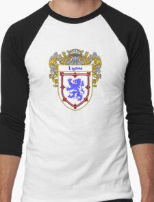 Lyons Coat of Arms/Family Crest Men's Baseball ¾ T-Shirt