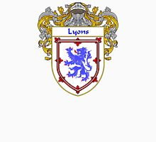 Lyons Coat of Arms/Family Crest Unisex T-Shirt
